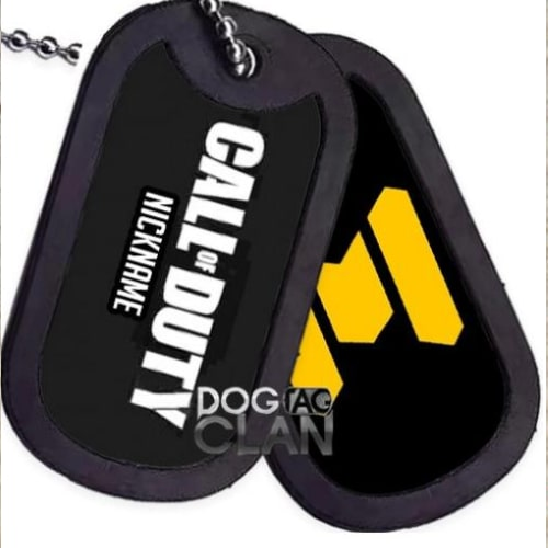 Dog Tag Call of Duty Mobile