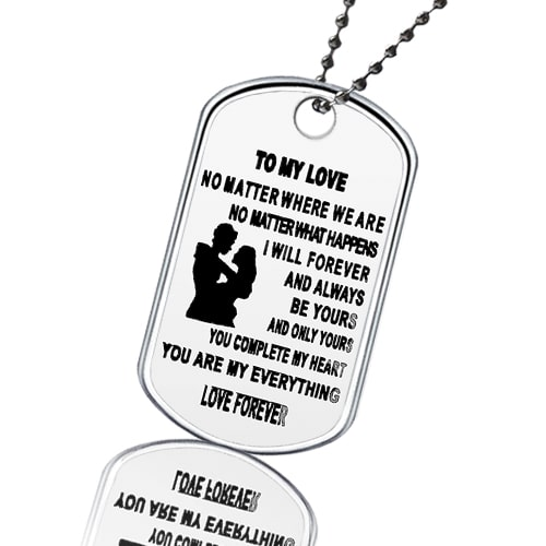 Dog tag To My Love